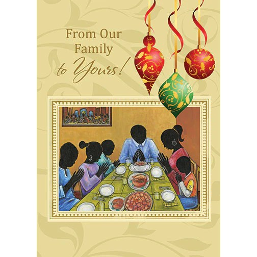 American Holiday Wishes African
