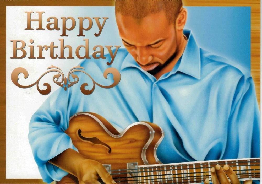 Happy Birthday African American Birthday Card The Black Art Depot