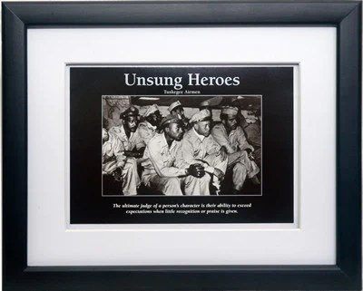 Unsung Heroes  Tuskegee Airmen by D azi Productions  Framed    The     Share