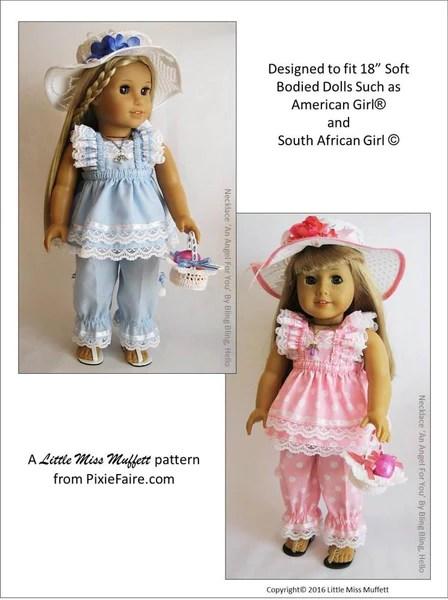 Little Miss Muffett Easter Parade Bundle Doll Clothes