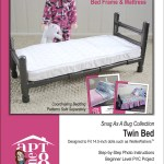Aptone8 Twin Bed Pvc Pattern 14 5 Dolls Such As Welliewishers Pixie Faire