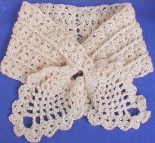 Pineapple Scarf Set Crochet Pattern Maggies Crochet