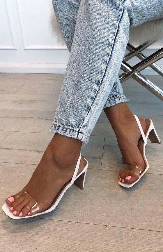 Sirela Heels White 11