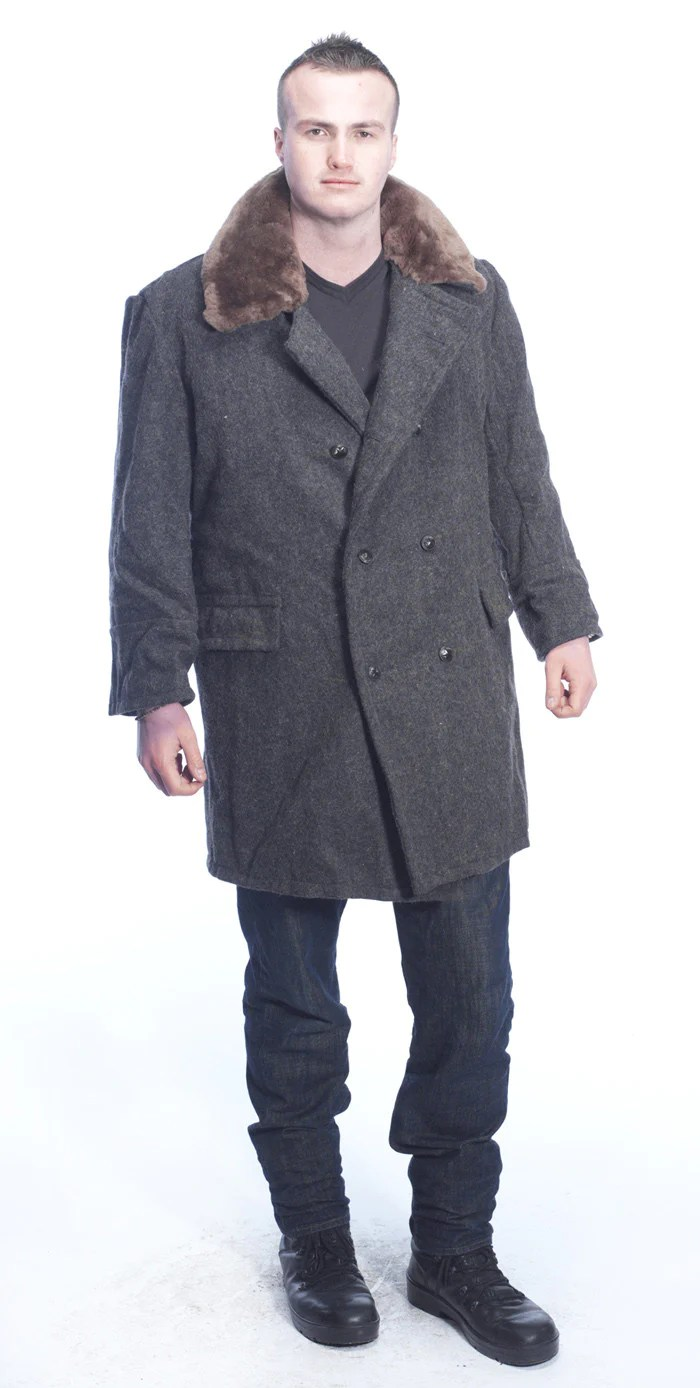 Russian Military Wool Coats