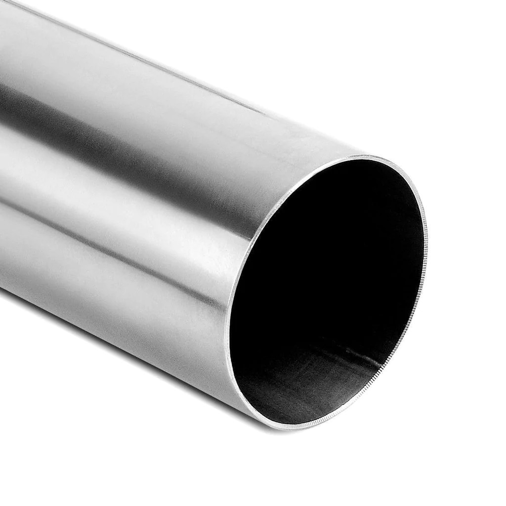exhaust tip curved tubing 2 5 inch inletx2 5 inch outletx24 inch 2 feet long stainless steel chrome polished tailpipe welded 90 degree bending pipe