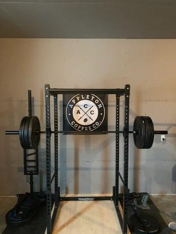 fringe sport garage series squat rack