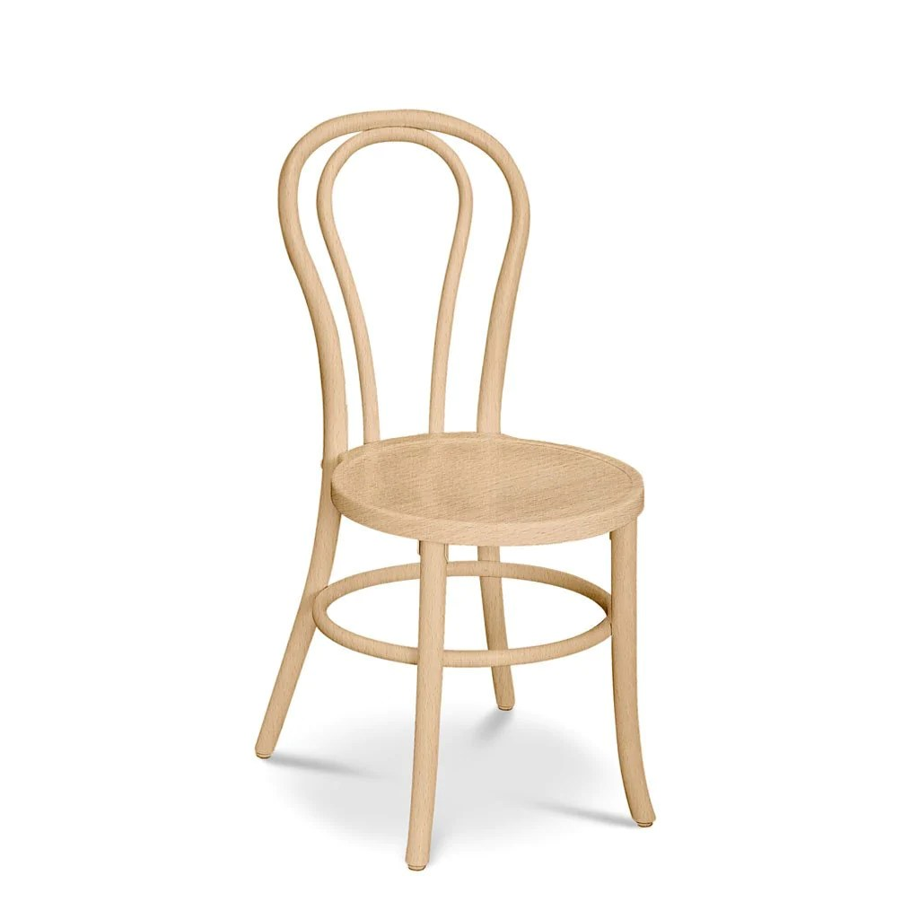 Bon Uno S Stacking Bentwood Chair Natural Nufurn