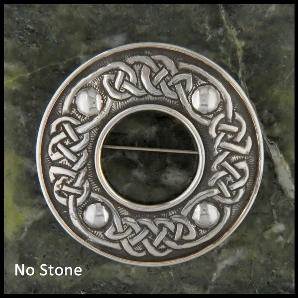 Sterling Silver Helens Celtic Brooch Walker Metalsmiths