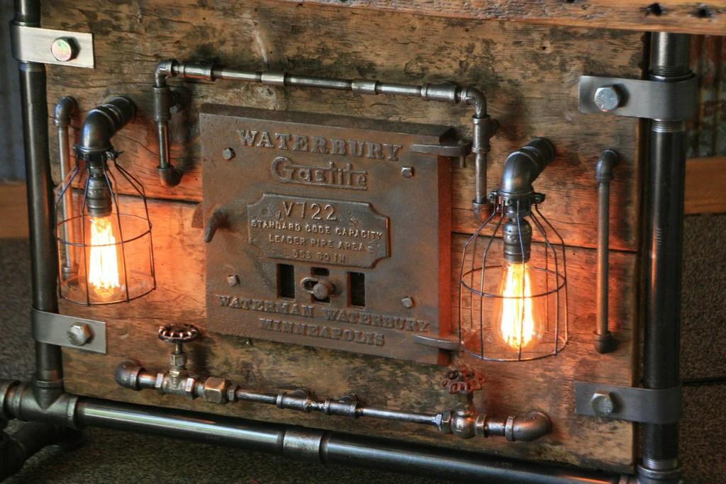 Steampunk Industrial Boiler