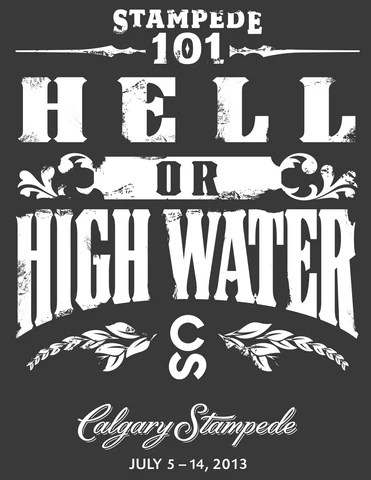 HELL OR HIGH WATER UNISEX T-SHIRT