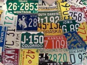 HD Decor Images » 1  USA License Plate Maps     Aaron Foster Designs USA Heart Map