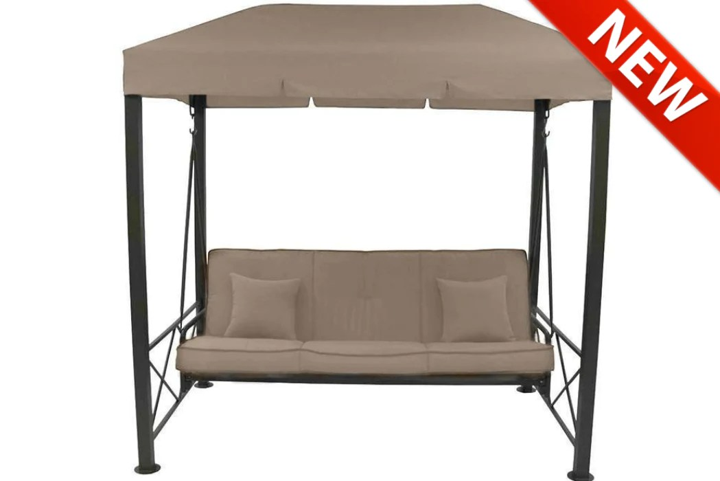target 3 person patio swing canopy high grade 300d