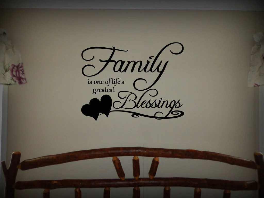 Custom Vinyl Wall Lettering Signs Decal Art Amp Graphics Family Is One O Door Post Vinyl Designs