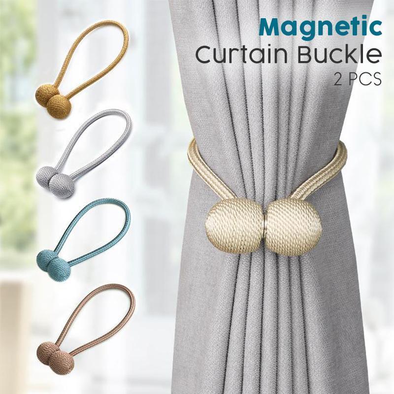 4 8 pcs magnetic curtain tie backs