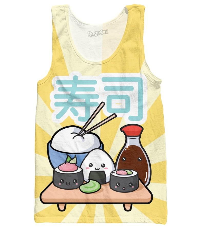 Sushi Friends Tank Top