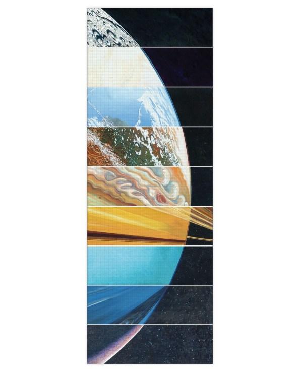 Planets Aligned Yoga Mat