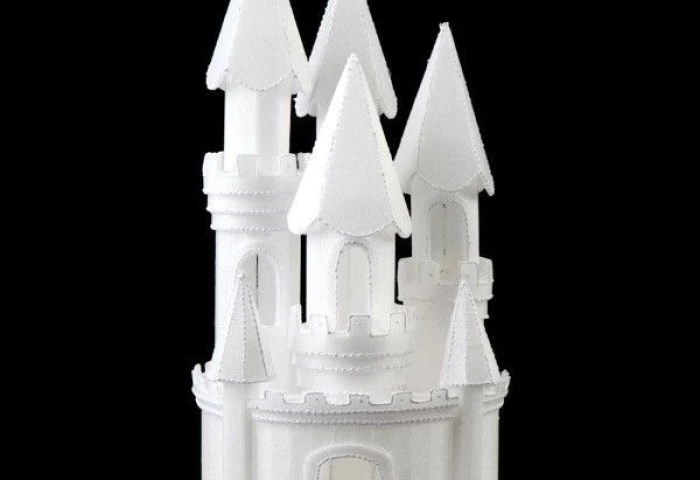 Styrofoam Cinderella Castle 8 Caljavaonline