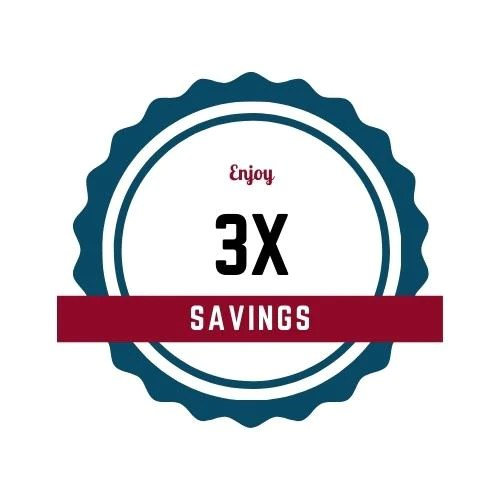 3X Savings