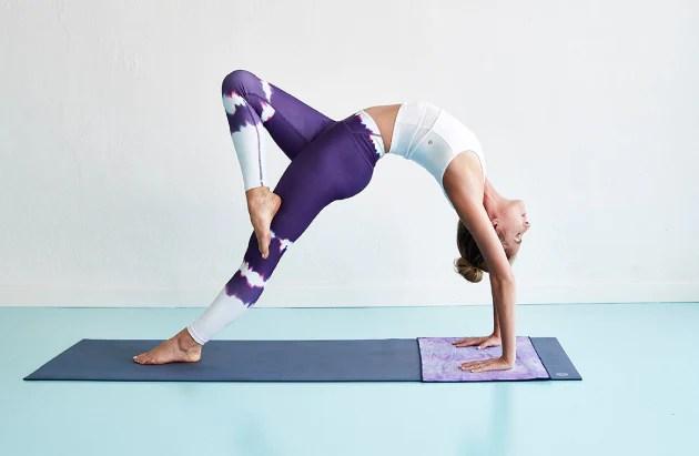 la serviette de yoga un plus