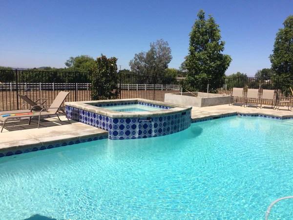 decorative pool tiles ceramic or