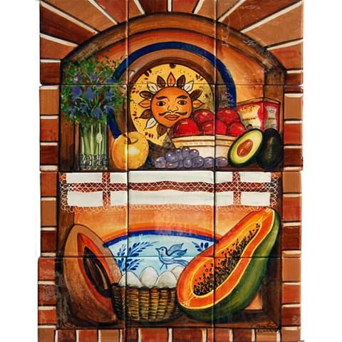 mexican tile murals mexican tile designs