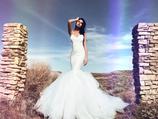 Pearl By Lauren Elaine Lola Gown