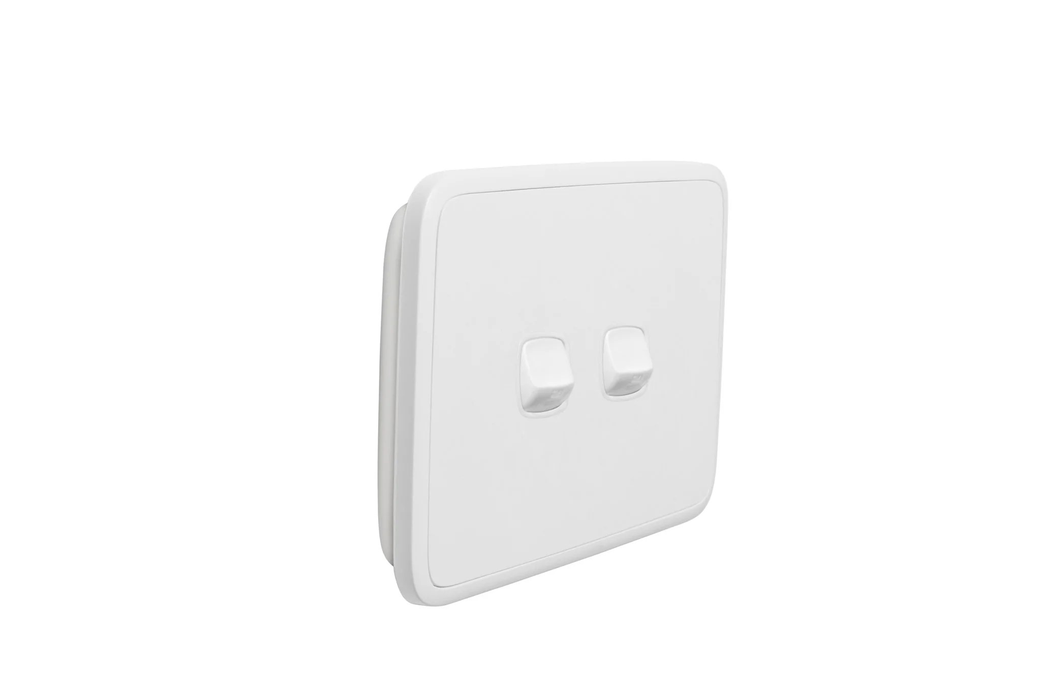 Light Cover Sideways Two Hole Switch