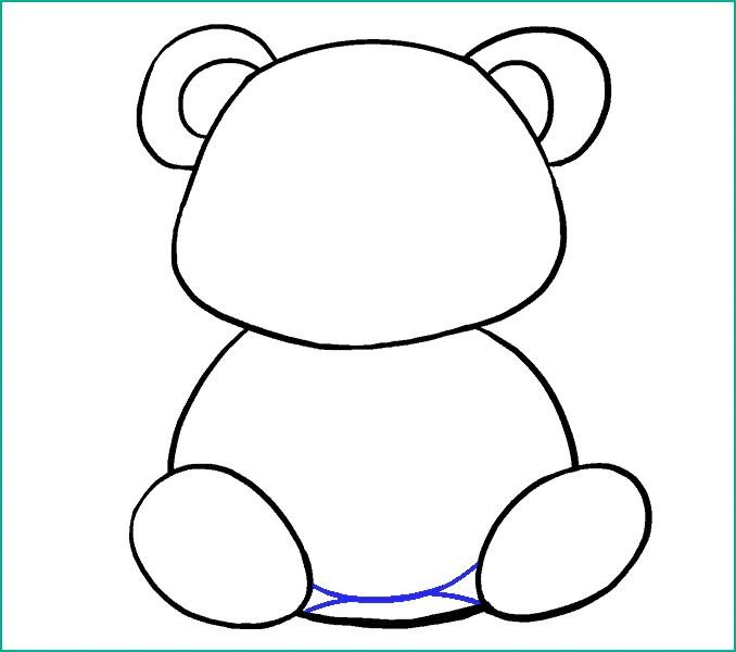 Dessin Panda Facile Petit Panda