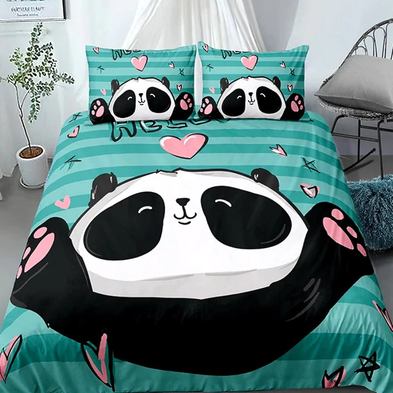 Parure Lit Garcon Petit Panda