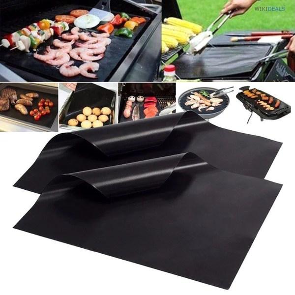 tapis de cuisson barbecue anti adhesif