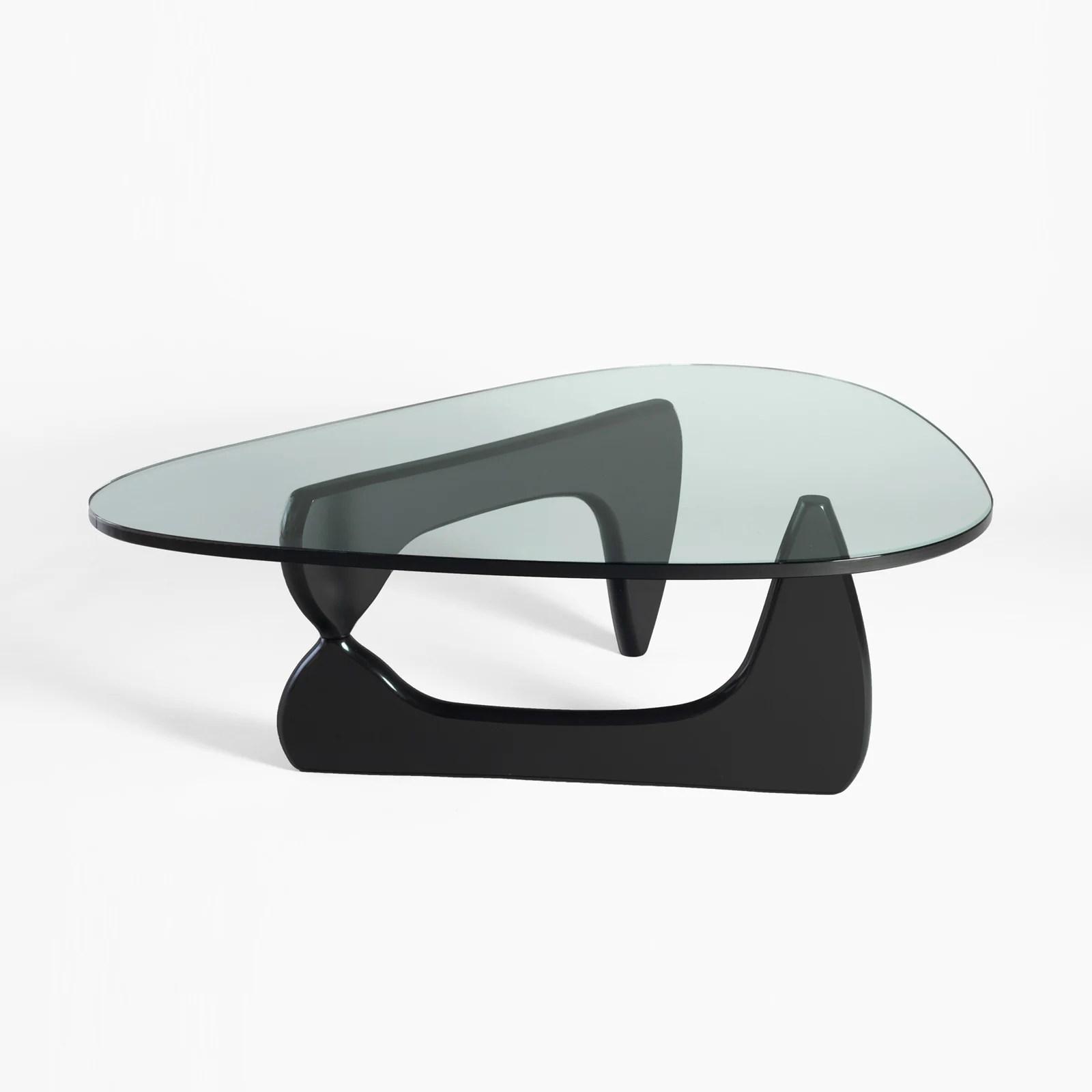 noguchi coffee table black