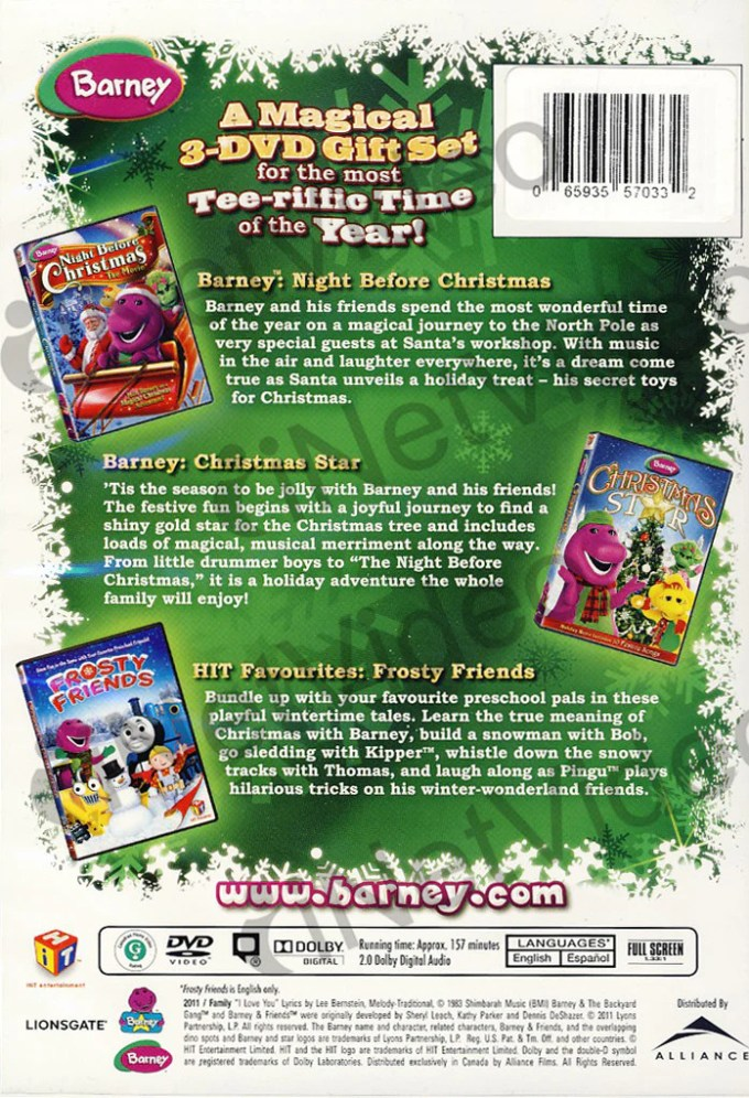 Barney And Friends Christmas Star Dvd | Christmaswalls.co