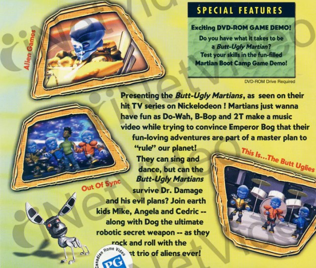 Butt Ugly Martians Boyz To Martians Dvd Movie