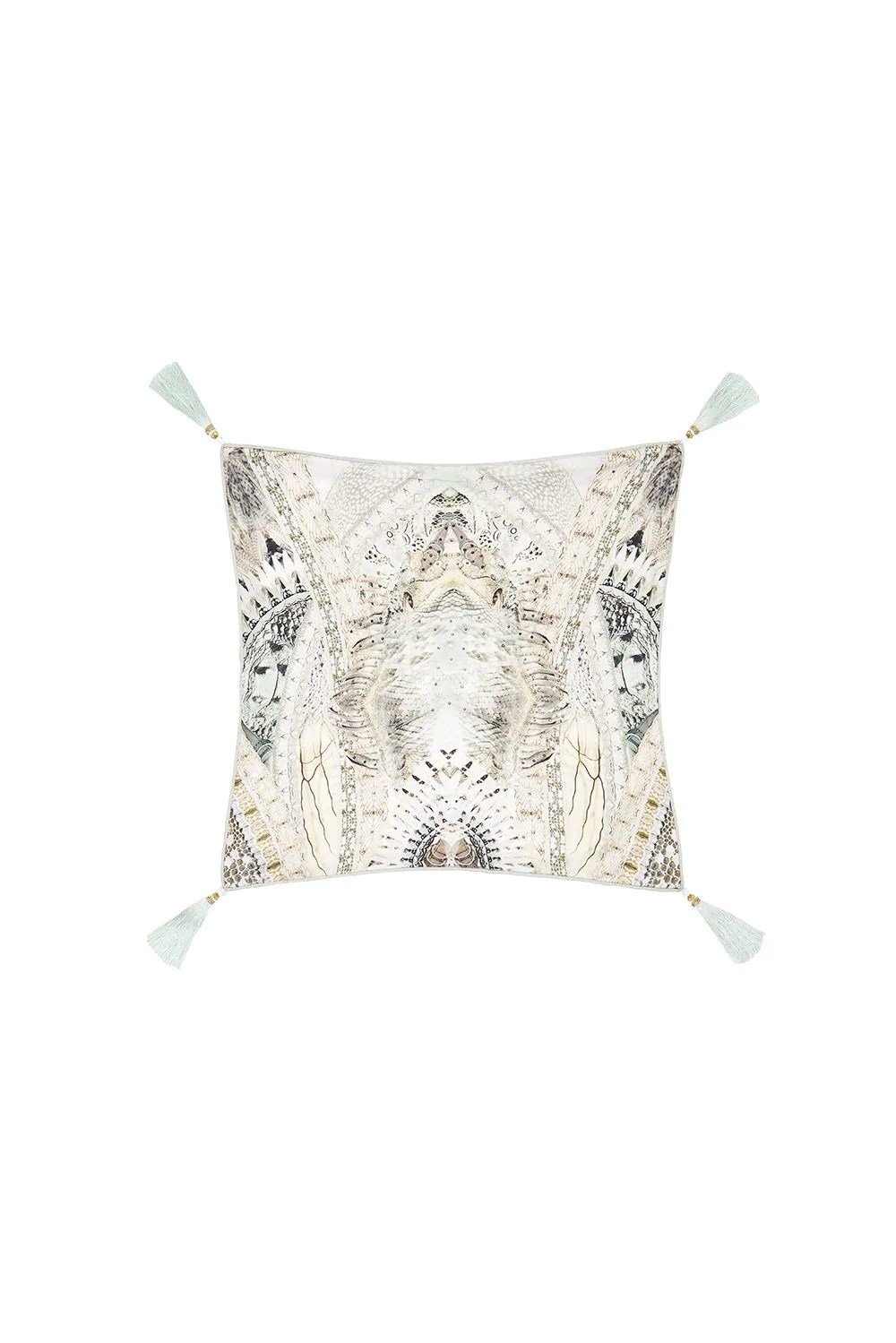 camilla daintree dreaming small square cushion zambezee