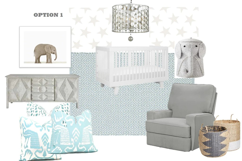 Mood Board Baby Boy Nursery Design With Nursery