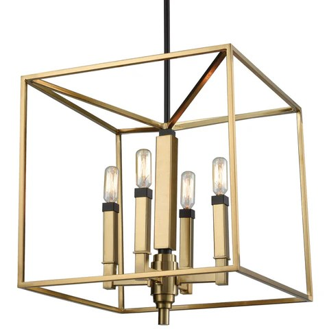 mandeville cage chandelier
