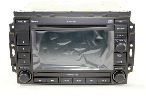 Jeep Cherokee Disc Navigation Grand 2005