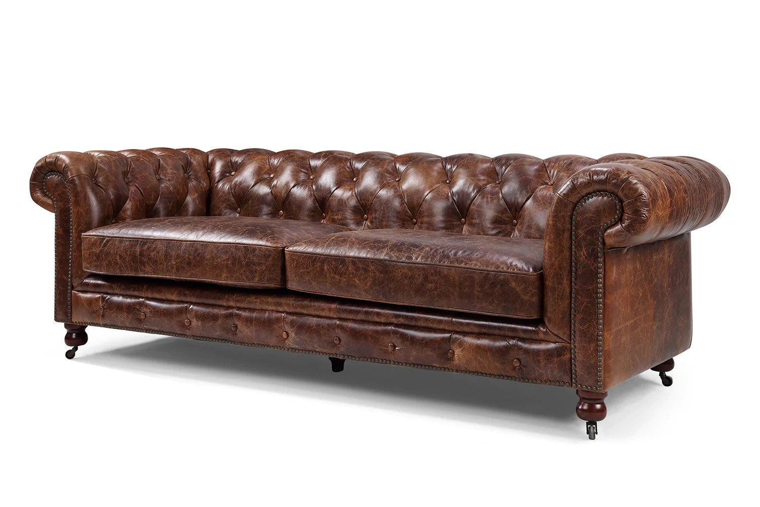 The Kensington Chesterfield Tufted Sofa Rose And Moore Kensington Chesterfield Tufted Sofa By Rose Moore
