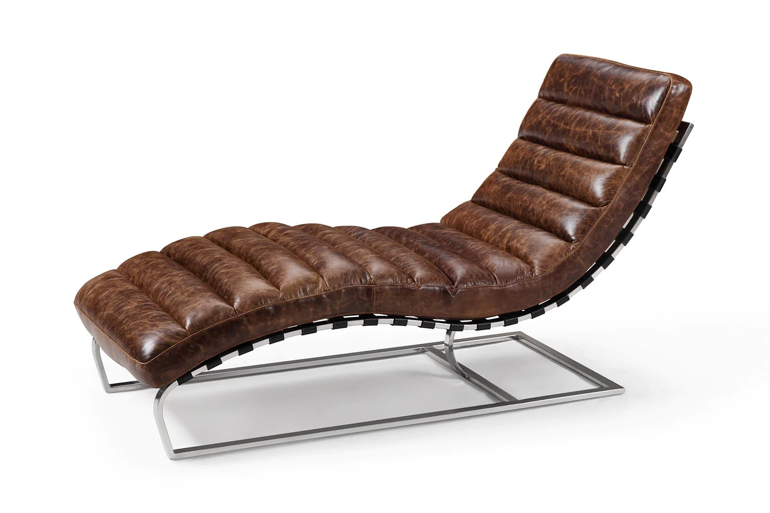 - The Leather Chaise Lounge Rose And Moore Leather Lounge Chair Rose