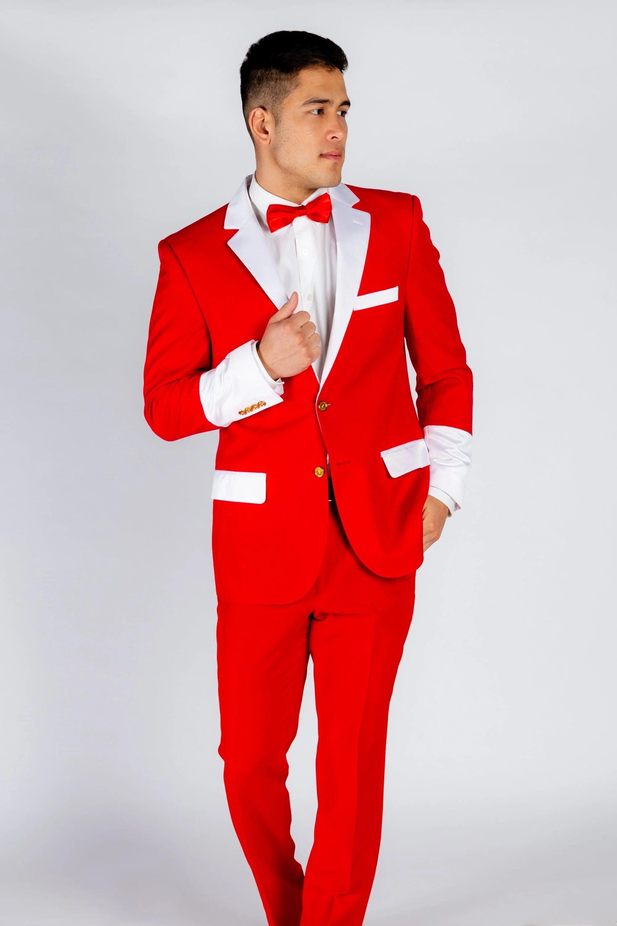 Red And White Santa Claus Suit The Sinful Santa Suit