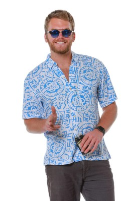 The Hybrid Temple Hawaiian Shirt - Shinesty