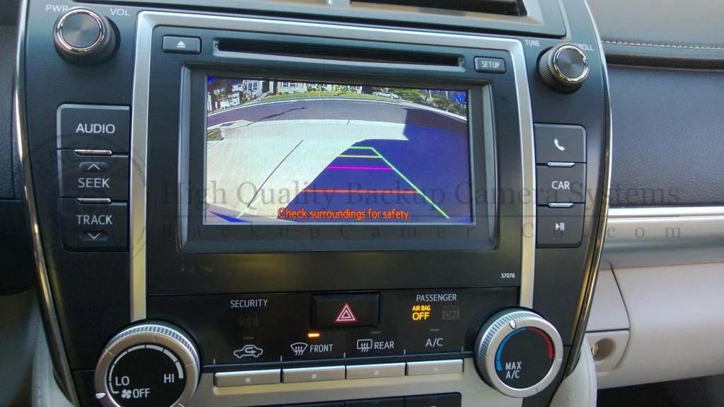 Toyota Display AudioEntune Backup Camera Kit  Camry