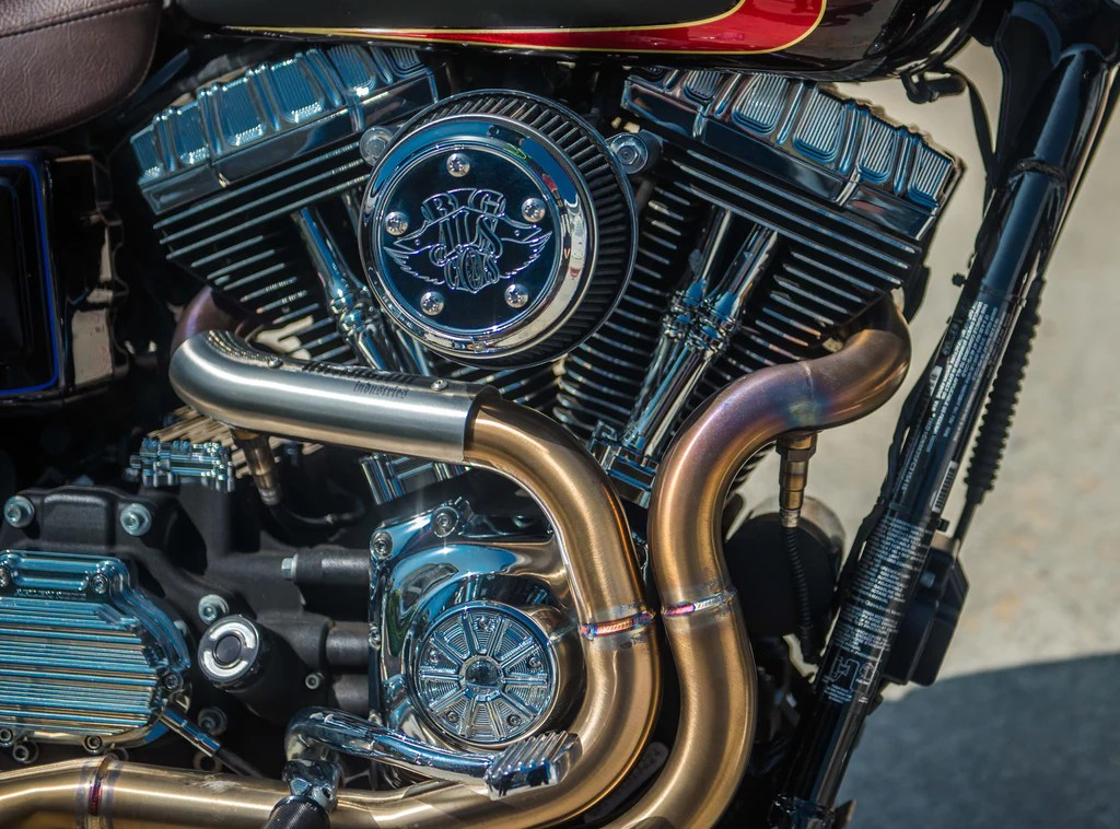 unknown dyna exhaust system