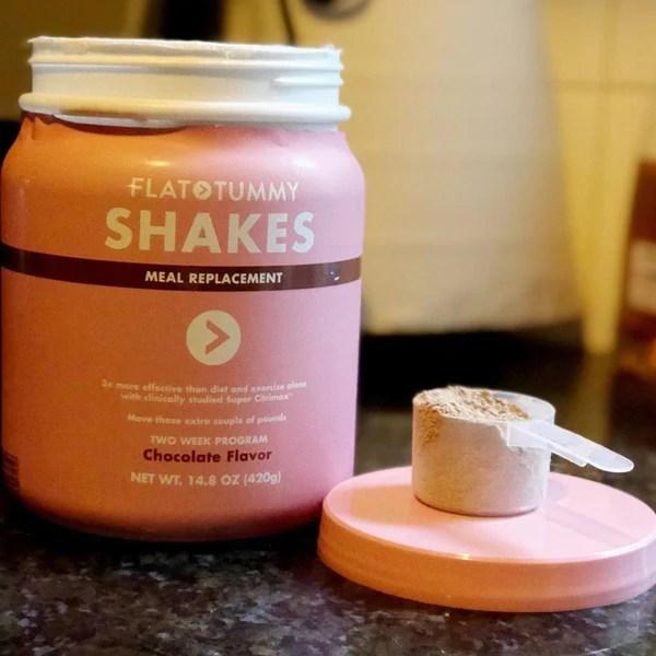 flat tummy shake powder