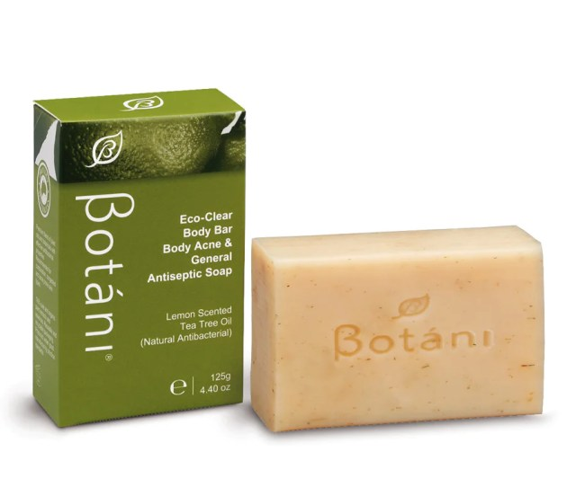 Botani Eco Clear Body Bar Body Acne General Antiseptic Soap A
