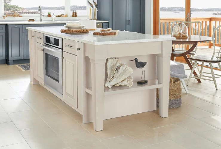 kitchen islands by kraftmaid cabinetry