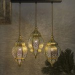 Moroccan Lights Linear Cluster Chandelier Antique Totally Handcrafted Shopwallstreet