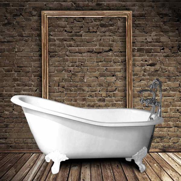 baignoires en fonte sur pieds le