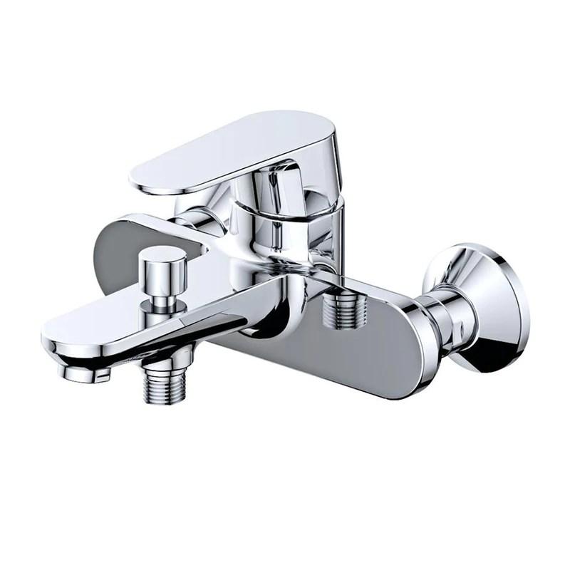 robinet mitigeur bain douche mural brixton pour salle de bain design