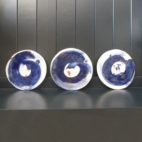 Flow Plate by Julie Hutton Ceramics. NHS. Coronavirus, Lockdown